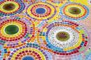Así se crea un mosaico pieza a pieza